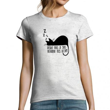 T-shirt femme Désolé mais...