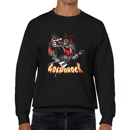 Sweat homme col rond Goldorock