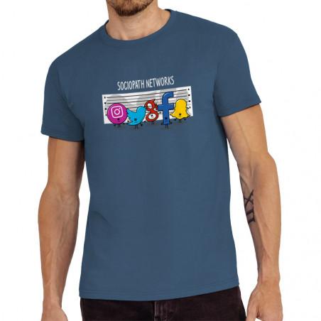 Tee-shirt homme Sociopath...