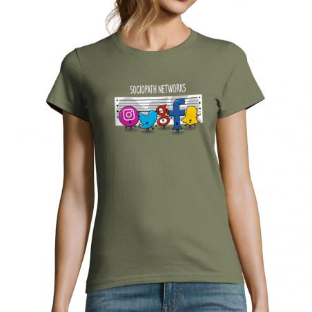 T-shirt femme Sociopath...