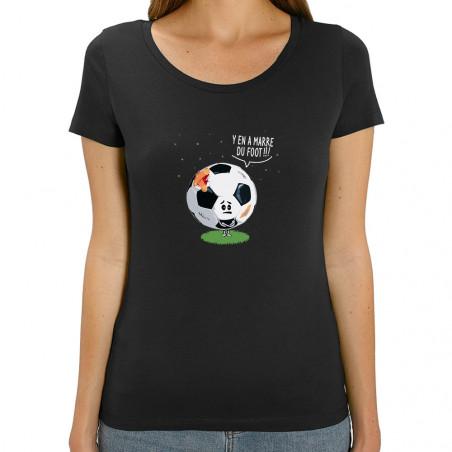Tee-shirt femme coton bio Y...
