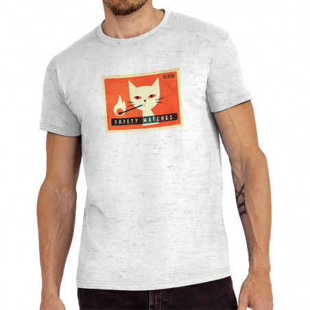 Tee-shirt homme Cat Safety...