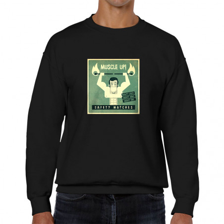 Sweat homme col rond Safety...