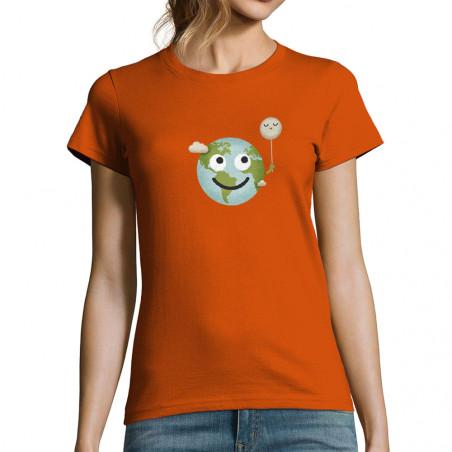 T-shirt femme Earth