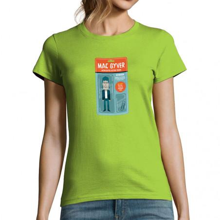 T-shirt femme Mac Gyver