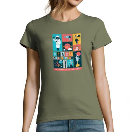 T-shirt femme Space Adventures