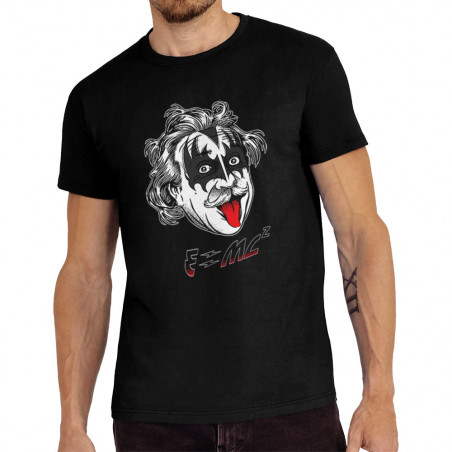 Tee-shirt homme Einstein Kiss
