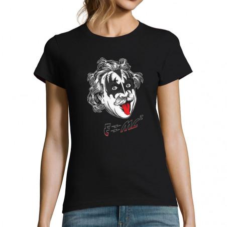 T-shirt femme Einstein Kiss