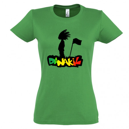 T-shirt femme Danakil - Flag