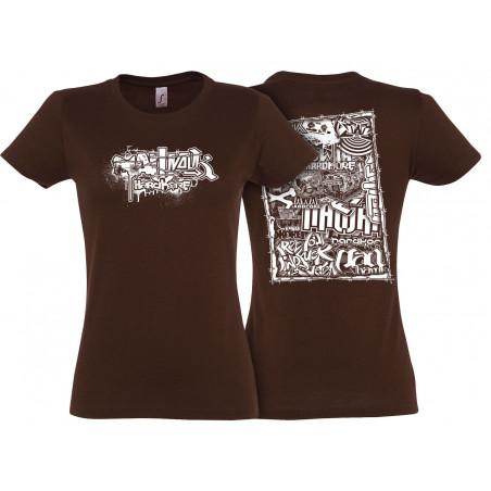 T-shirt femme Nawak -...