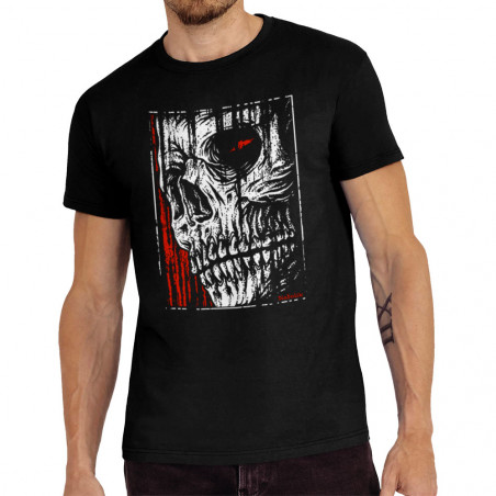 Tee-shirt homme Hatched Skull