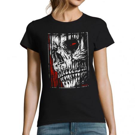 T-shirt femme Hatched Skull