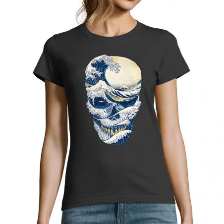 T-shirt femme Hokusai Wave...
