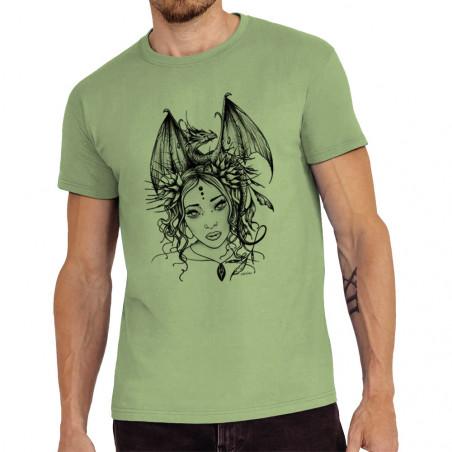Tee-shirt homme Dragon Girl