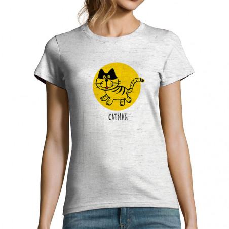 T-shirt femme Catman