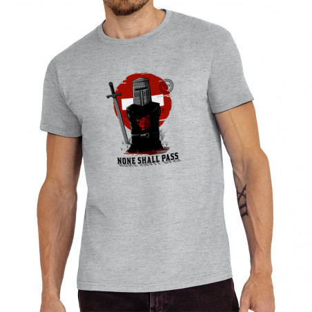 Tee-shirt homme None Shall...