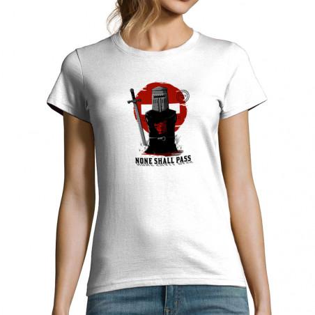 T-shirt femme None Shall Pass