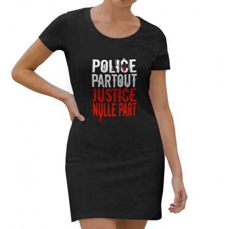 Robe légère Police Partout