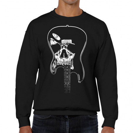 Sweat homme col rond Dead...