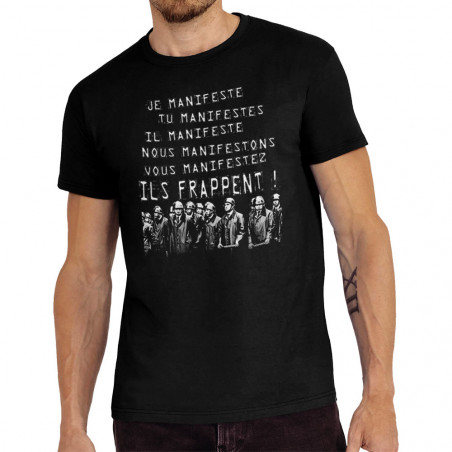 Tee-shirt homme Je manifeste