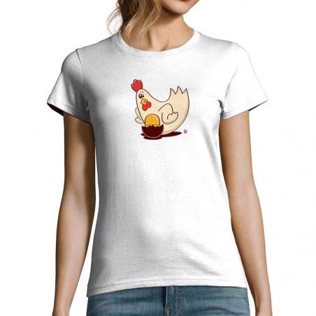 T-shirt femme Chicken Surprise