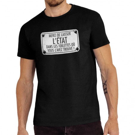 Tee-shirt homme Merci de...