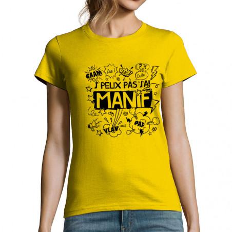 T-shirt femme J'peux pas...
