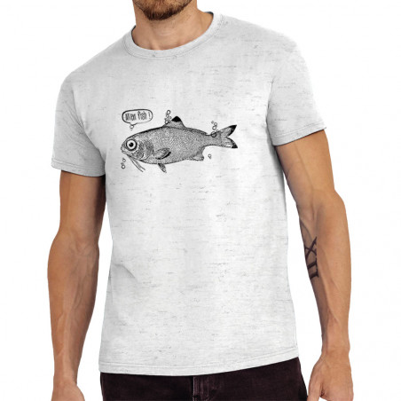 Tee-shirt homme M'en fish