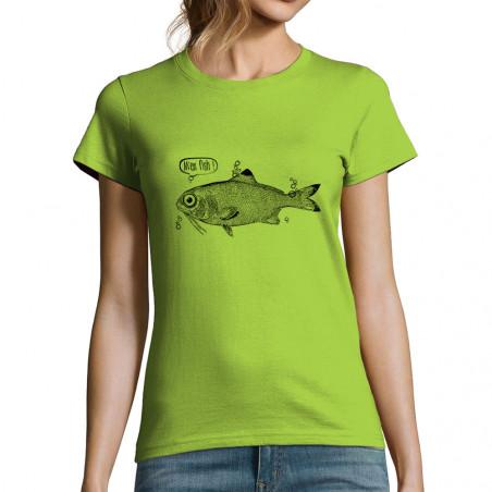 T-shirt femme M'en fish