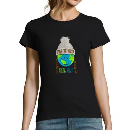 T-shirt femme Make the...