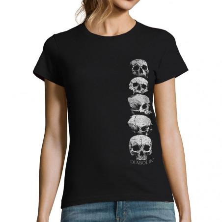T-shirt femme Five Skulls