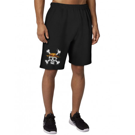 Short molleton homme One Skull