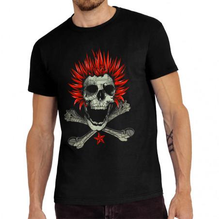 Tee-shirt homme Punk Skull 2