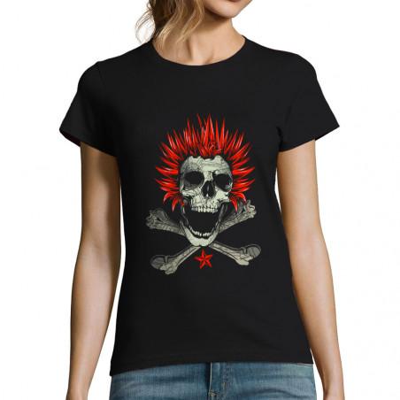 T-shirt femme Punk Skull 2