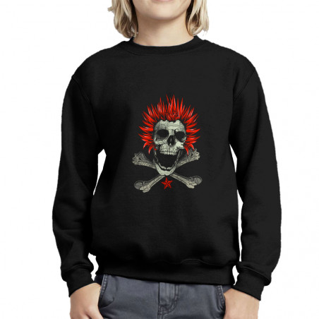 Sweat enfant col rond Punk...