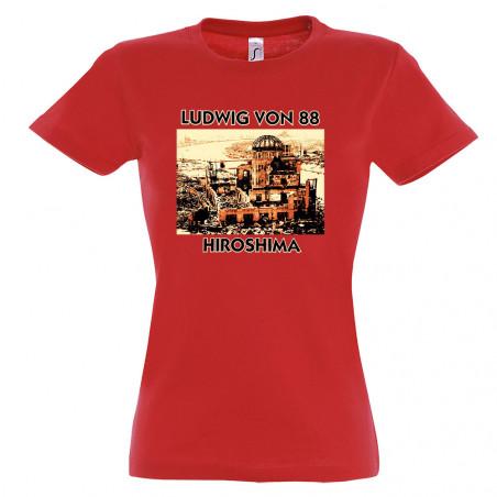 T-shirt femme LV88 - Hiroshima
