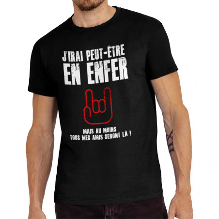 Tee-shirt homme J'irai...