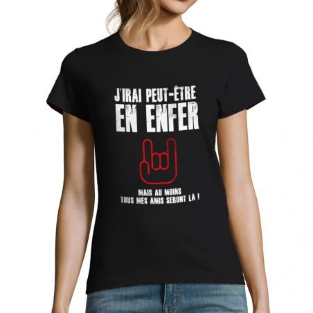 T-shirt femme J'irai...