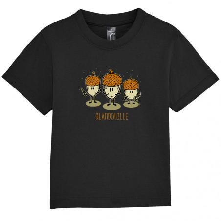 "Tee-shirt bébé ""Glandouille"""