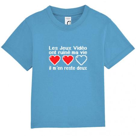 """Tee-shirt bébé """"Les jeux..."""