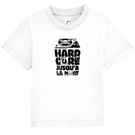 "Tee-shirt bébé ""Hardcore..."