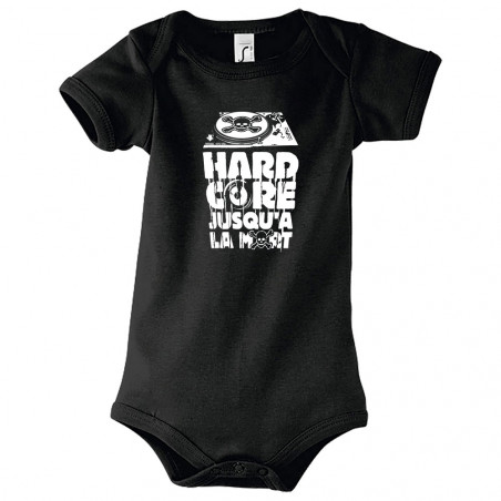 "Body bébé ""Hardcore jusqu'à..."