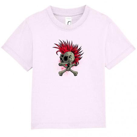 """Tee-shirt bébé """"Iroskull"""""""