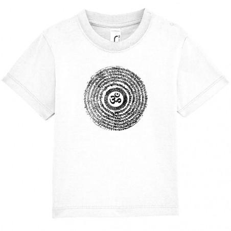 """Tee-shirt bébé """"Ohm Spiral"""""""