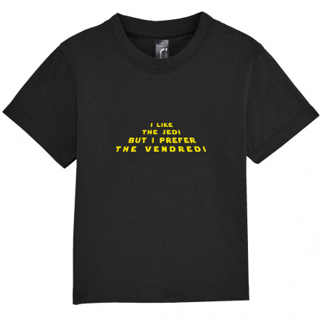 "Tee-shirt bébé ""I like the..."