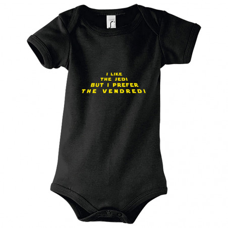 "Body bébé ""I like the Jedi..."