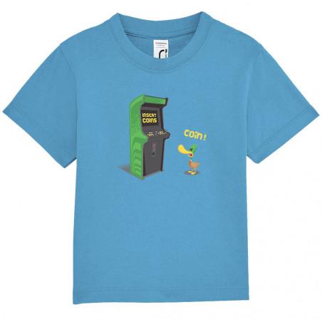 """Tee-shirt bébé """"Insert Coins"""""""