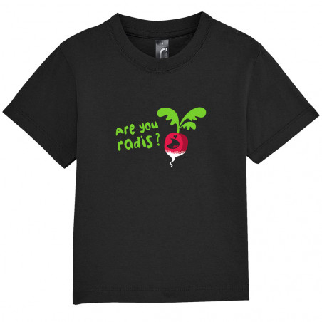 "Tee-shirt bébé ""Are You Radis"""