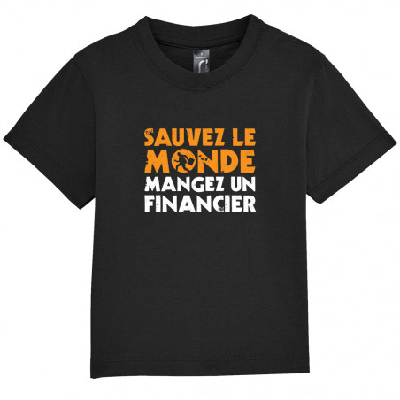 "Tee-shirt bébé ""Sauvez le..."