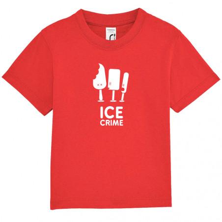"""Tee-shirt bébé """"Ice Crime"""""""